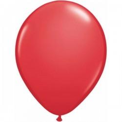 Piros Kerek Gumi Lufi - 13 cm-es