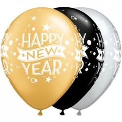 Szilveszteri Happy New Year Gumi Lufi