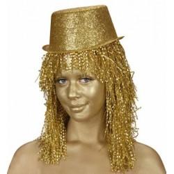 Arany színű arcfesték tubusban