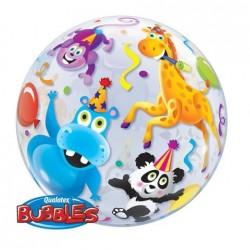 Parti Állatok Bubble Héliumos Lufi 56 cm