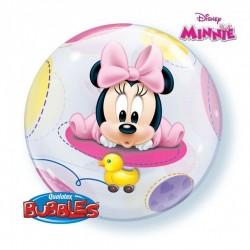 Baby Minnie Bubbles Lufi Babaszületésre Disney 56 cm