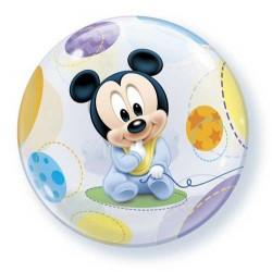 Baby Mickey Bubbles Lufi Babaszületésre - Disney 56 cm