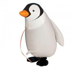 Sétáló Pingvin Héliumos Lufi