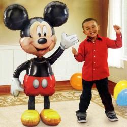 Mickey Mouse Sétáló Fólia Lufi