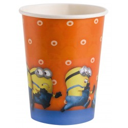 Minion Parti Pohár - 250 ml, 8 db-os