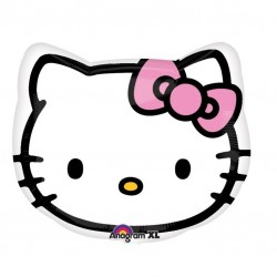 18 inch-es Hello Kitty Head Fólia Lufi