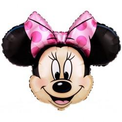 Minnie Mouse Héliumos Fólia Lufi
