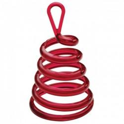 Piros (Red) Spirális Sétáló Léggömbsúly - 30 gramm