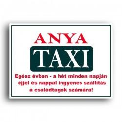 Anya Taxi - Vicces rendszám