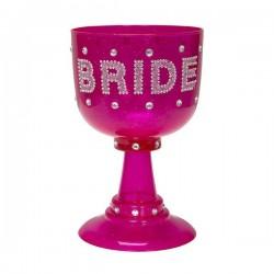 Strasszos Kehely Lánybúcsúra Bride To Be Felirattal