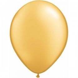 Arany Színű ( Metallic Gold ) Kerek Lufi 28 cm-es