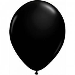 Fekete Színű ( Onyx Black ) Kerek Lufi 40 cm