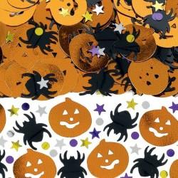 Tök És Pók Konfetti Halloweenre
