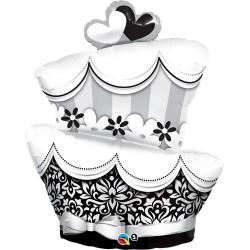 Esküvői Torta Fólia Lufi - 103 cm
