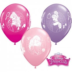 Disney Hercegnők Gumi Lufi (6 db/csomag) - 28 cm