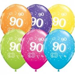 90-es Számos Születésnapi Gumi Lufi