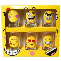 Smile Vicces Felespohár Szett - 6 db-os