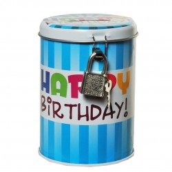 Happy Birthday Születésnapi Persely - 11 cm x 8,5 cm