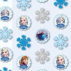 Frozen - Jégvarázs Hópelyhes Parti Függő Dekoráció