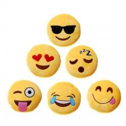 Emoji plüss párna - Smile párna 15 cm-es
