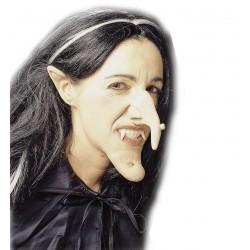Boszorkány szett 4 db-os, orr, áll, fülek folyékony ragasztóval