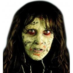 Félelmetes, bomló arcbőr Halloweenre