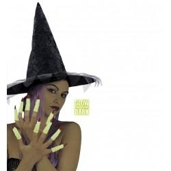 Sötétbenvilágító boszorkány ujjak 10 db-os szett