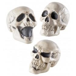 Műanyag koponya 12 cm