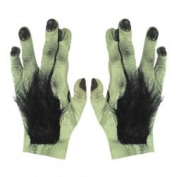 Szőrös Zombi kézfej kesztyű gumiból