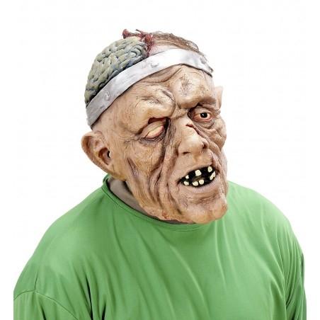 Zombi maszk szegecselt aggyal