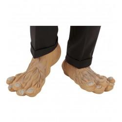 Zombi lábfej gumiból, Zombi jelmezhez