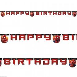 Pókember Happy Birthday Feliratos Szülinapi Füzér