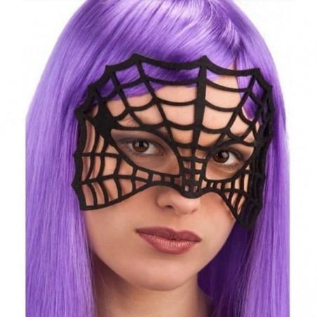 Pókháló Női Maszk Halloween-ra