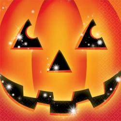 Tök Mintás Szalvéta Halloweenre
