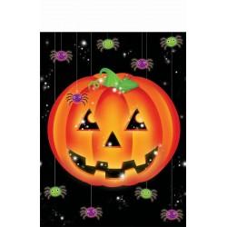 Tök Mintás Asztalterítő Halloweenre