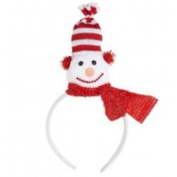 Hóemberes karácsonyi fejdísz