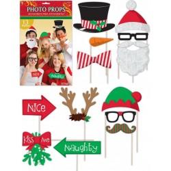 Karácsonyi Kellékek Fotózáshoz - 13 db-os