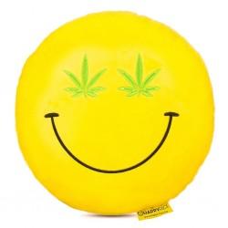 Emoji Párna - Cannabis smile párna