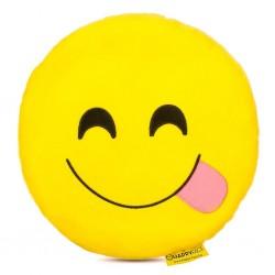 Emoji Párna - Nyelvöltős smile párna