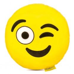 Emoji Párna - Kacsintós smile párna