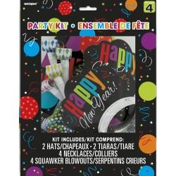 Happy New Year Szilveszteri Parti Szett - 12 db-os