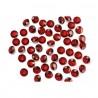 Piros Gyémánt Alakú Kristály hatású Dekorkő - 100 db-os