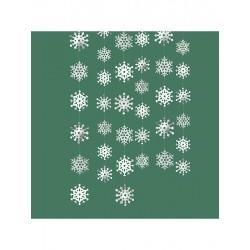 Hópelyhes Függő Dekoráció, 213 cm-es
