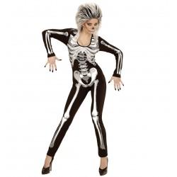 Női csontváz overal jelmez