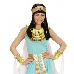 Egyiptomi nyakék és karkötő szett 3 db-os