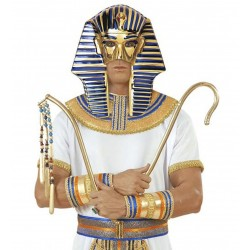 Fáraó maszk, Tutankhamen műanyag maszk