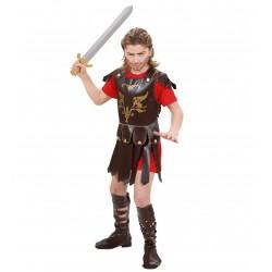 Gladiátor jelmez 8-10 éveseknek 140 cm-es