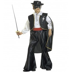 Zorro bandita jelmez 8-10 éveseknek 140 cm-es
