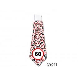 Vicces nyakkendő Születésnapra - Sebességkorlátozós Számos 60-es