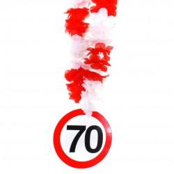 70-es számos születésnapi nyakfüzér